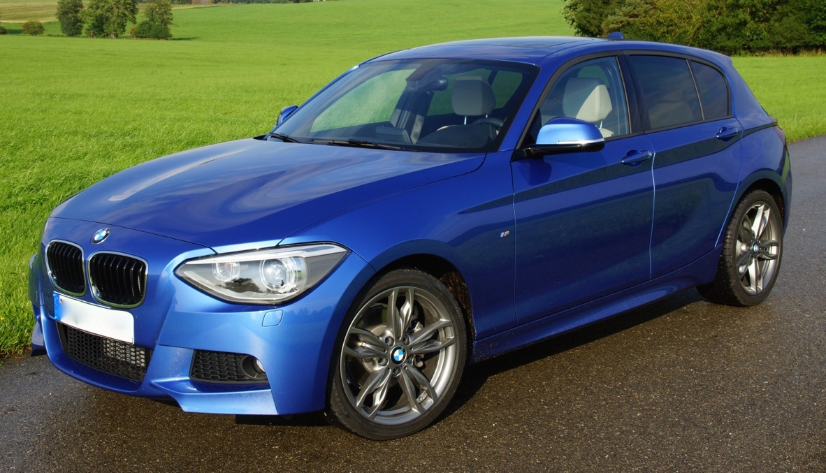 bmw 1er coupe m paket blau. Black Bedroom Furniture Sets. Home Design Ideas