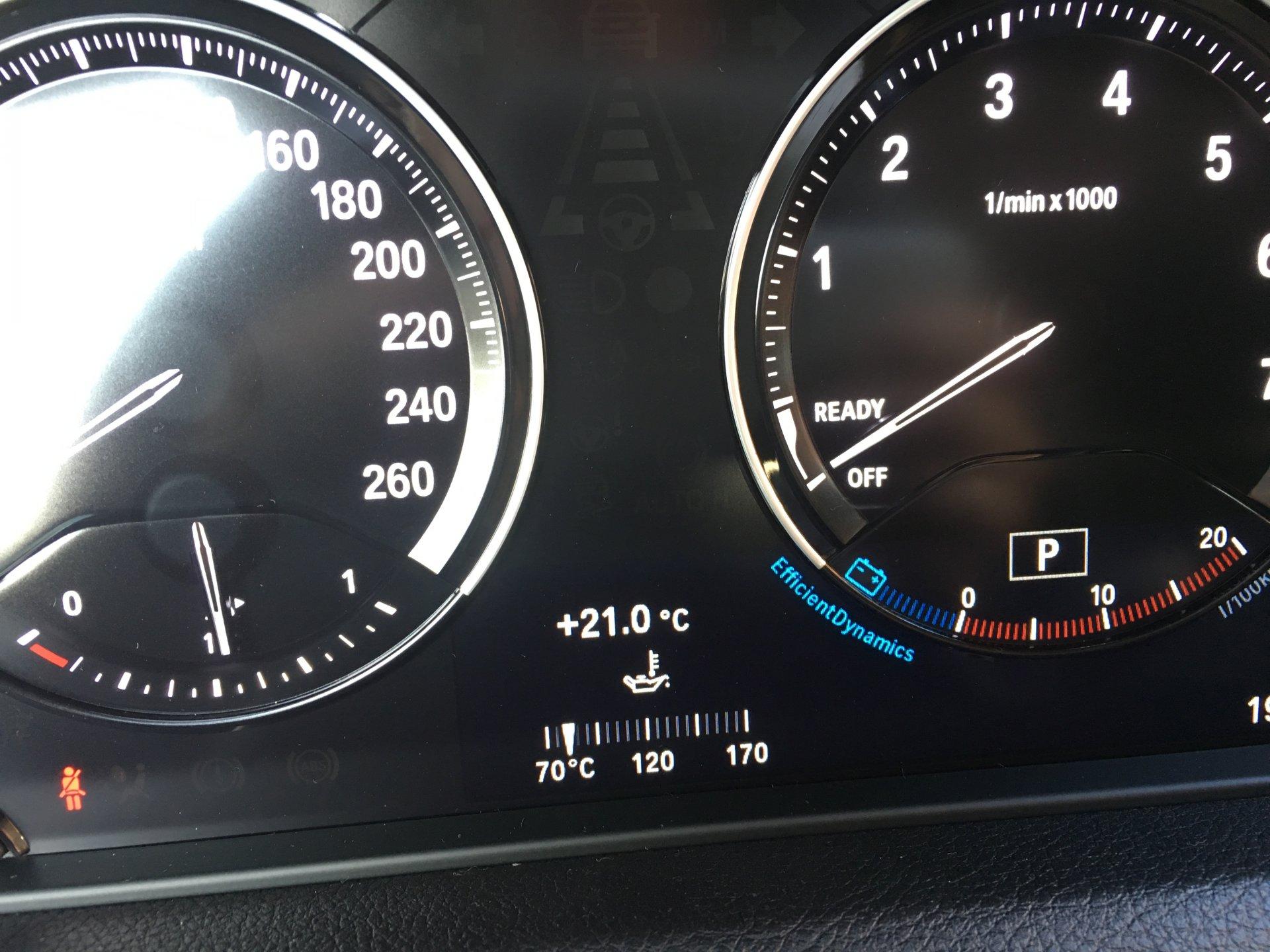 LCI2 - oil temp gauge - FINALLY !!!