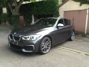 f20 m140i mineralgrau bmw 1er 2er forum community. Black Bedroom Furniture Sets. Home Design Ideas